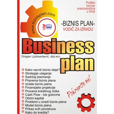 Knjiga: Biznis plan - vodič za izradu