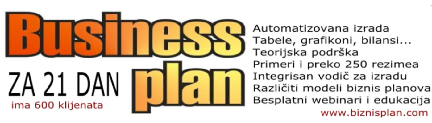 eVodič za biznis plan